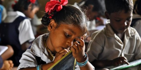 The Indian census indicates that about half of the adult population is unable to read or write. Unsurprisingly, literacy rates vary widely between states, and between gender