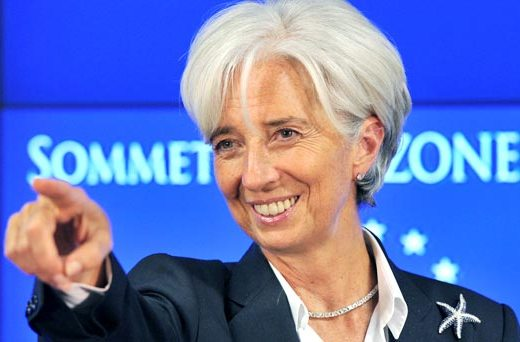 Lagarde also said, Asia remains home to two-thirds of the world's poor, many of whom live in India