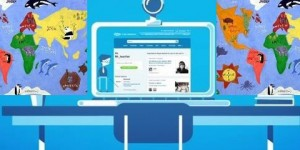 Skype is an inexpensive way of communication in classroom